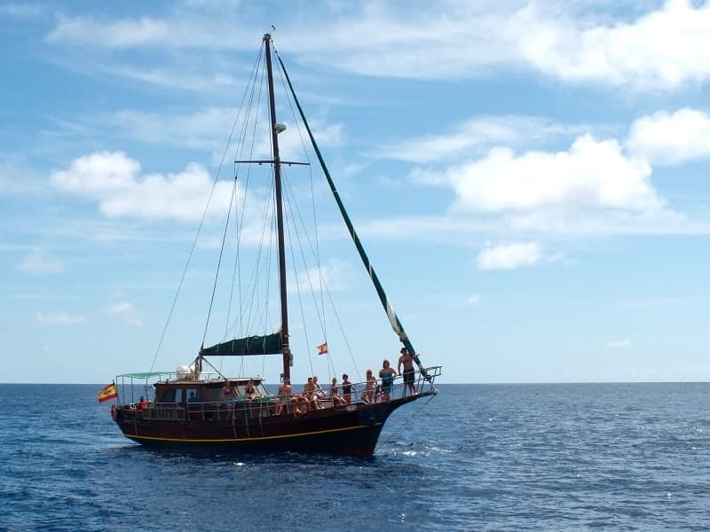 Schooner VIP excursion from Morro Jable