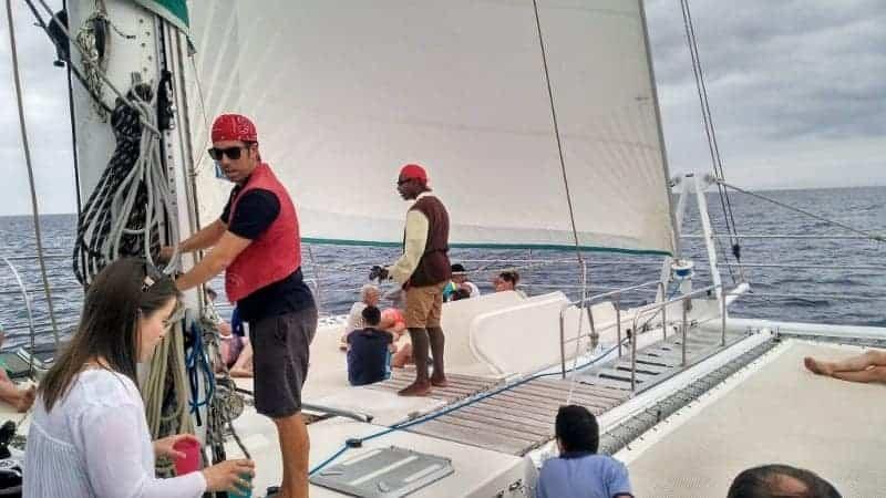 Tripulación preparada para volver a Puerto Calero