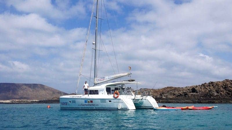 Boot nach Isla de Lobos