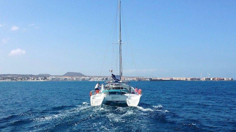 Fahren Sie mit dem Boot zur Insel Lobos