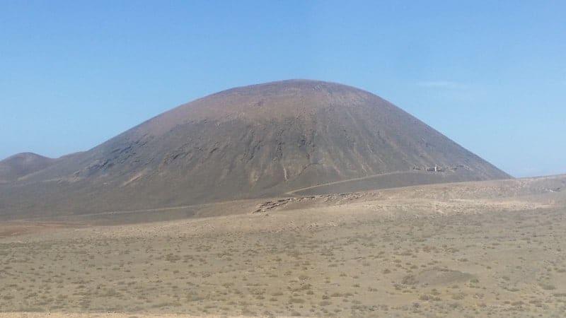 Montaña Quemada
