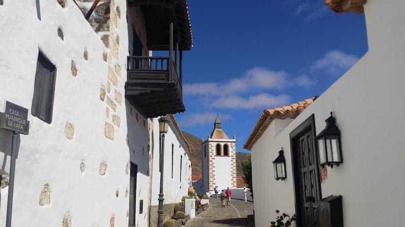 Streets of Betancuria