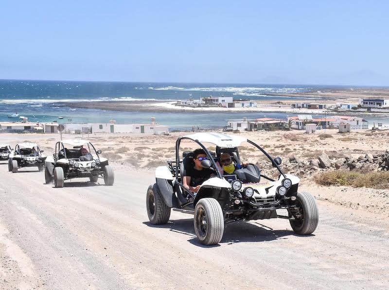 Buggy route through Fuerteventura