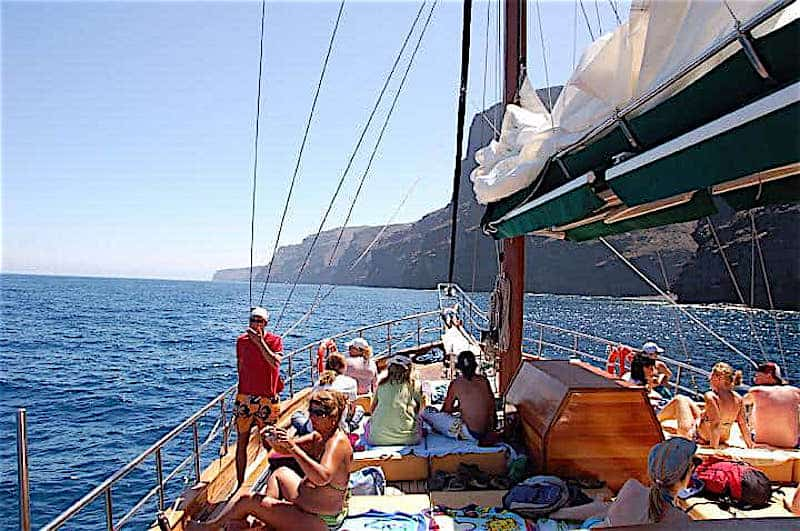 Tour the coast of Fuerteventura on schooner